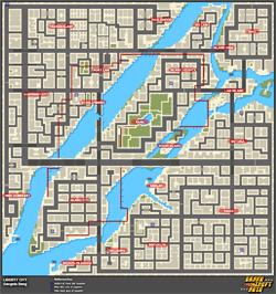 Mapa de Frenesís asesinos > Liberty City > Gangsta Bang