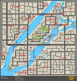Mapa de Frenesís asesinos > Liberty City > Heist Almighty