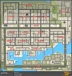 Mapa de Frenesís asesinos > San Andreas > Mandarin Mayhem