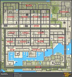 Mapa de Frenesís asesinos > San Andreas > Tequila Slammer