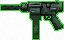 Ametralladora S-Uzi con silenciador