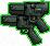 Pistolas dobles