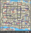 Mapa de Armas e ítems del Distrito Central