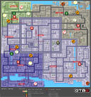Mapa de Territorios del Distrito Central