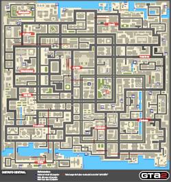 Mapa de Tokens del Distrito Central