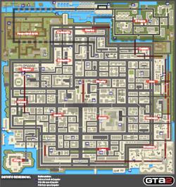 Mapa de Tokens del Distrito Residencial