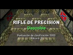 Práctica Rifle de precisión