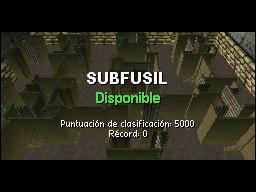 >Práctica Subfusil