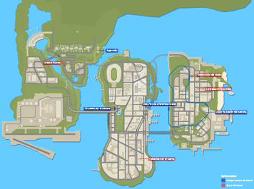 Mapa de Misiones secundarias