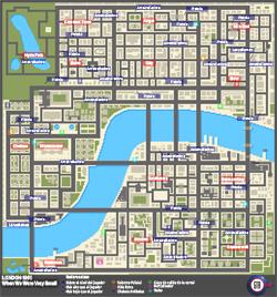 Mapa de Armas e ítems