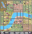 Mapa de Barrios y sitios característicos