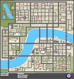 Mapa de Frenesís asesinos de Chelsea Smile