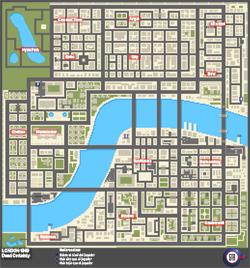 Mapa de Misiones secretas de Dead Certainty