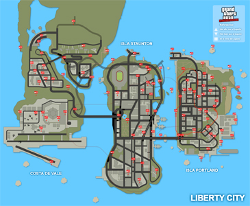 Mapa de Paquetes ocultos