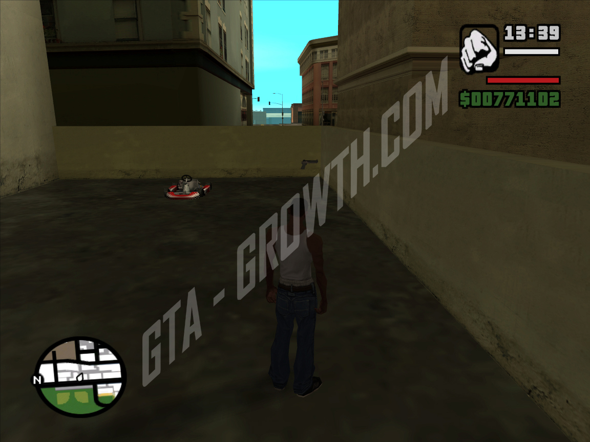 GTA-Growth > GTA San Andreas > Mapas > Armas