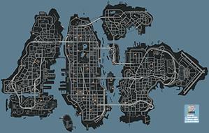 Mapa de Gaviotas