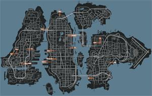 Mapa de Amigos y actividades