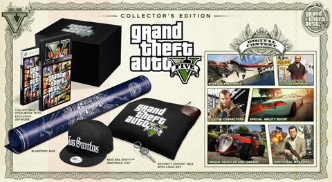 Edición de Coleccionista de GTA V