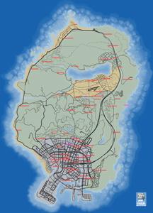 Mapa de Eventos aleatorios