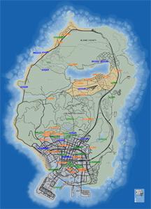 Mapa de Extraños y locos