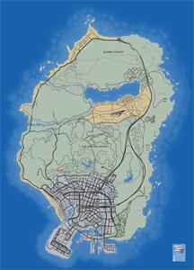 Mapa de Fragmentos de la carta