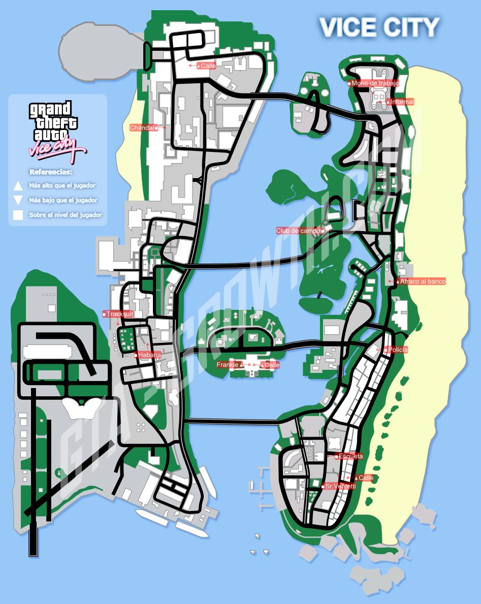 GTA-Growth > GTA: Vice City > Mapas > Ropa