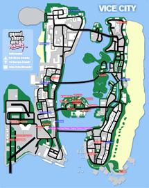 Mapa de Vehículos del salón de coches
