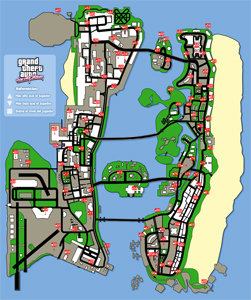 Mapa de Globos rojos
