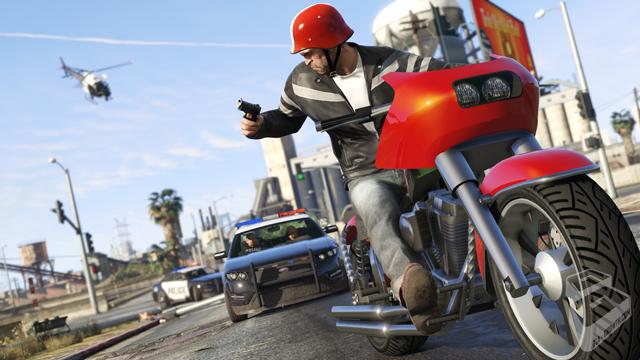 Screenshot exclusiva de GTA V en PC
