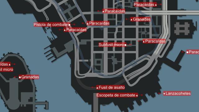 Mapa de GTA IV